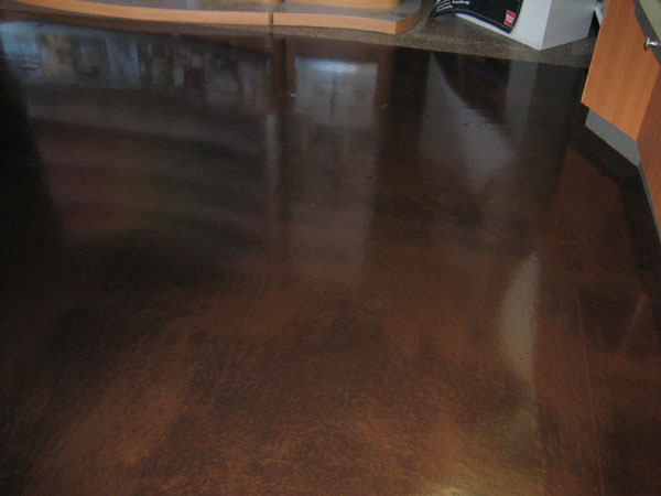 Color Chrome finished floor