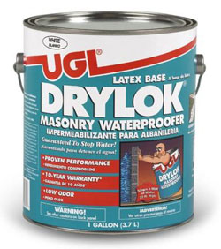 Drylock masonry waterproofer latex base
