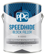 PPG SPEEDHIDE BLOCK FILLER