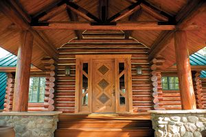 Log-&-Siding-Log-Dark-Oak-and-Door-Natural