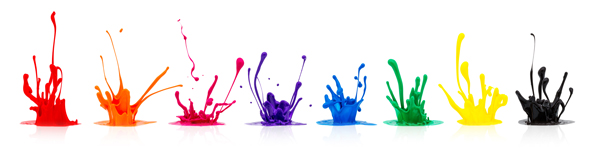 Paint Splashes for Web