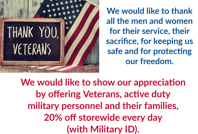 VETERANS FOR SPECIAL OFFER PAGE