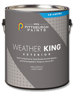 Weather King II exterior paint