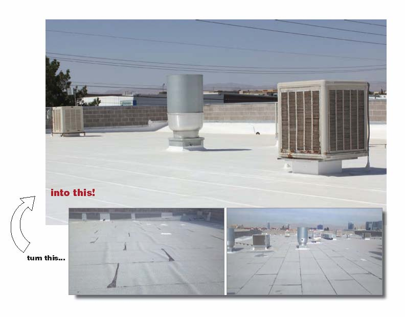 Gaco roof coatings