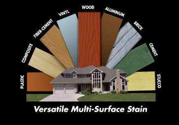 versatile multi-surface stain